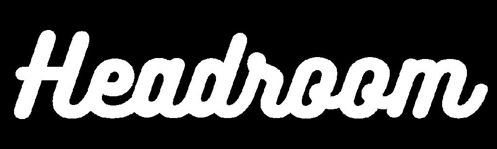 Headroom text logo