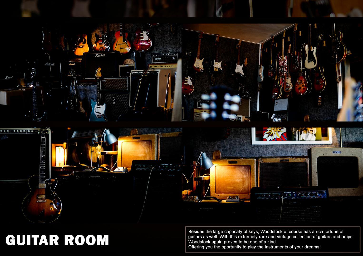 Guitar Room - Woodstock Recording Studio